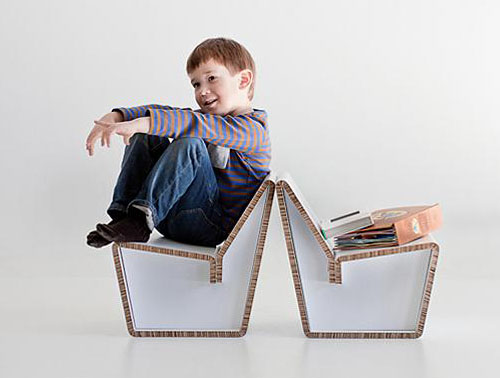 Kenno Children Chair by Jarvi and Ruoho
