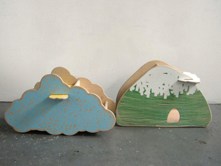 Kid City Cloud and Moutain Toy