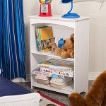 Kid-Friendly Design And Color Of Nantucket 2-Shelf Bookcase Has Made It A Furniture For Kids