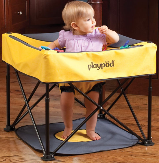 Kidco Go-Pod Portable Activity Seat for Small Living Space or Traveling
