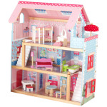 KidKraft Chelsea Doll Cottage Comes With Complete Furniture Set
