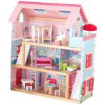 KidKraft Chelsea Doll Cottage Comes With Complete Furniture Set