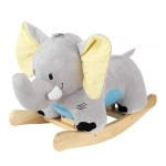 Cute and Cuddly KidKraft Elephant Plush Musical Rocker