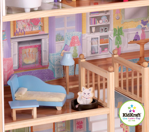 Large kidkraft majestic dollhouse for your perfect little for Big modern dollhouse