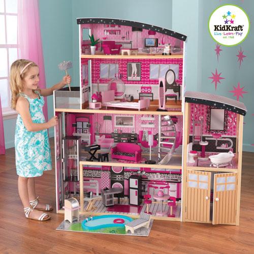 KidKraft Sparkle Wooden Mansion Dollhouse