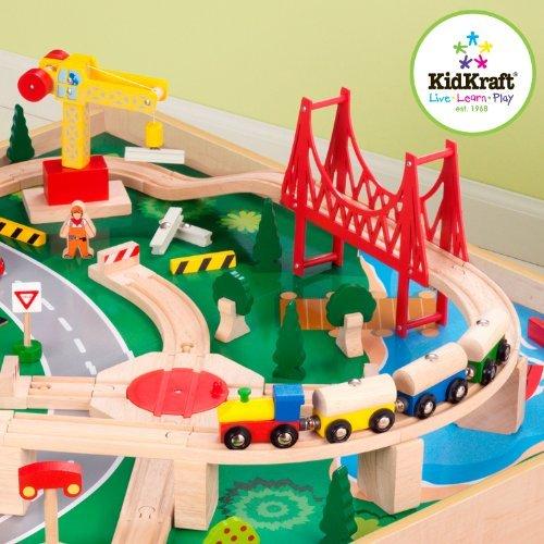 KidKraft Waterfall Mountain Train Table Set