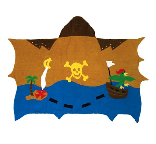 Kidorable Pirate Infant Towel