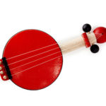 Kid's Classic Little Red Banjo Introduces Music Play to Your Children