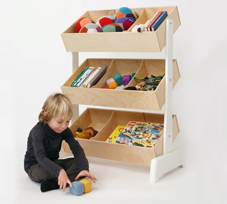 Keep Your Kid's Stuffs Organized in Oeuf Toy Store