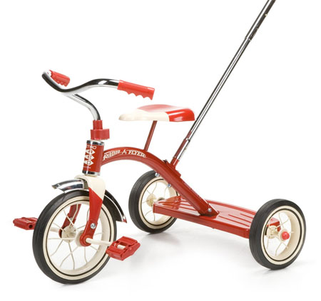Kids will Love Riding the Convenient and Stylish Classic Tricycle