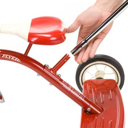 radio flyer tricycle with push handle instructions