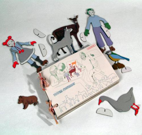 Kidsonroof Totem Figurines
