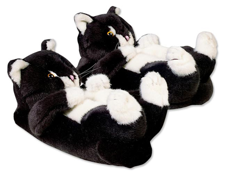 Animal Slippers - Kitten Slippers