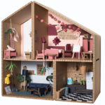 KOKO Cardboards Playhouse Stimulates Creativity and Craft Skills of Your Children