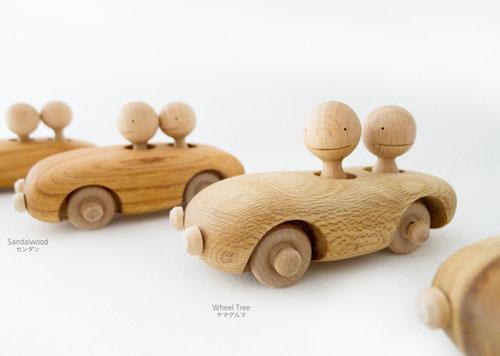 KURUMA Handmade Wooden Toys by Flowers Studio