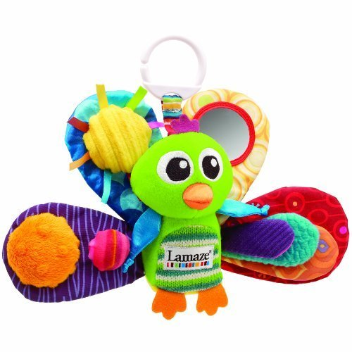 Lamaze Jacques the Peacock Plush Toy To Keep Babies Entertained