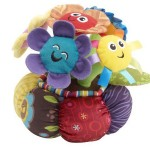 Lamaze Soft Chime Garden Musical Toy : Adorable Smiling Flowers That Play Music