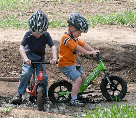 learn balance on strider prebike