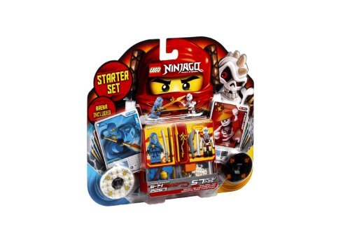 Spinjitsu Game : LEGO Ninjago Spinjitzu Starter Set