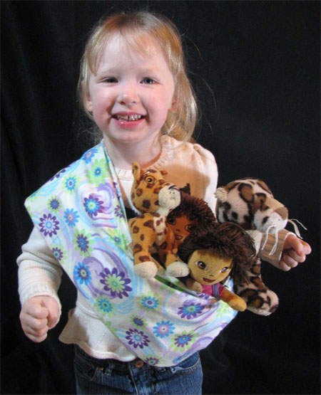 baby doll sling pouch carrier