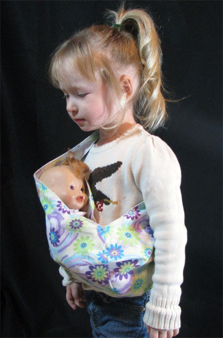 Let Your Baby Girl Become A Mom With Baby Doll Sling Pouch