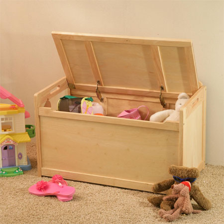 beechwood toy chest