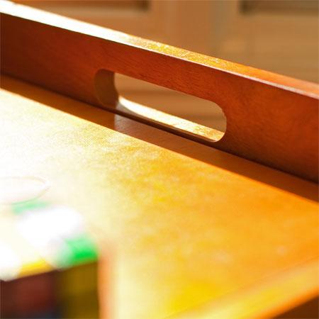beechwood toy chest