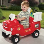 Let Your Kids Become a Firefighter with Rescue Fire Truck