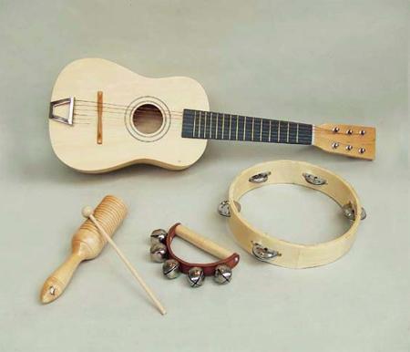 wooden mini band set