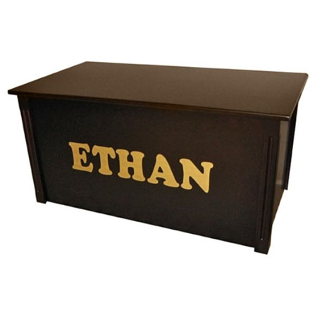 lettering toy box