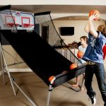 Fun for The Whole Family with Lifetime Indoor Double Shot Arcade Basketball System