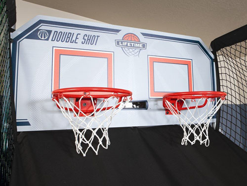 Lifetime Indoor Double Shot Arcade Basketball System