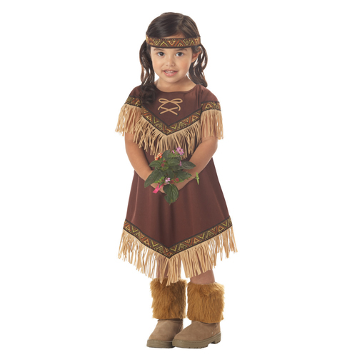 Lil Indian Princess Costume - Top 20 Halloween Kids Costumes