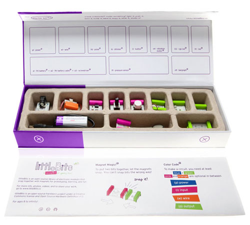 LittleBits Modular Electronics Starter Kit for Children