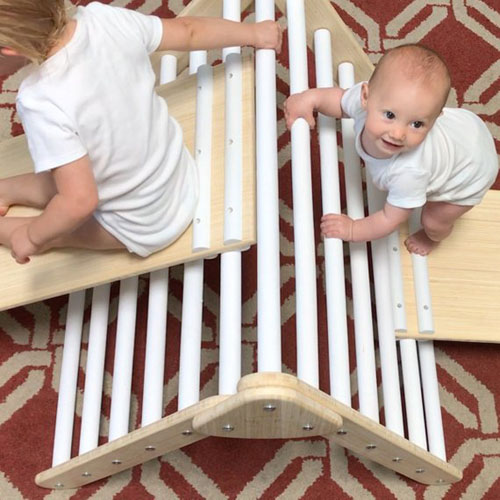 Little Climber by Lily and River - Climbing Exercise Helps Strengthen Link Between Brain and Muscles