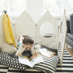 Little Houses Sensory Play Space Divider Doubles as A Learning Environment