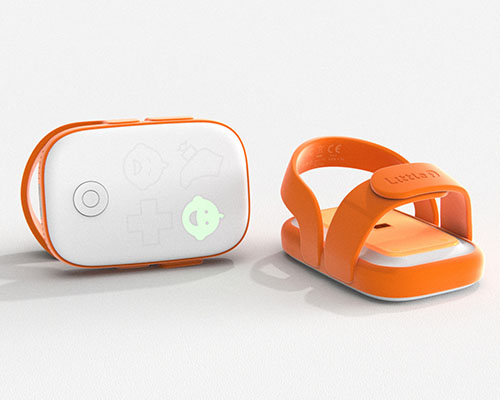 Little I - Wearable Baby Health Monitor Concept by Chris Barnes