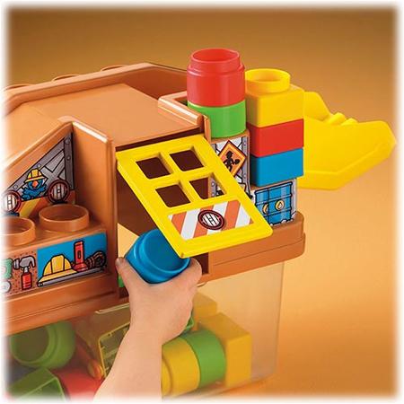 Little People Build-n-Move Construction Building Set