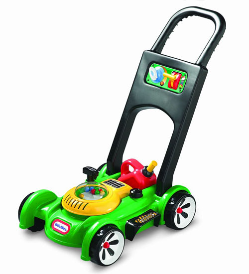 Toy Lawn Mower : Little tikes gas 'n go mower toy looks like a real thing