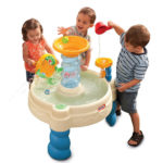 Little Tikes Spiralin' Seas Waterpark Play Table for Memorable Summer Activities