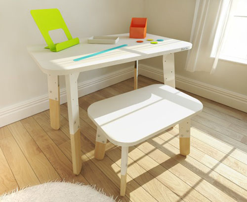 Lollipop Childs Play Table and Stool Set by Start-Rite Furniture