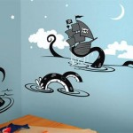 Dive Into Your Kid's Imagination With Lost At Sea Wall Graphic