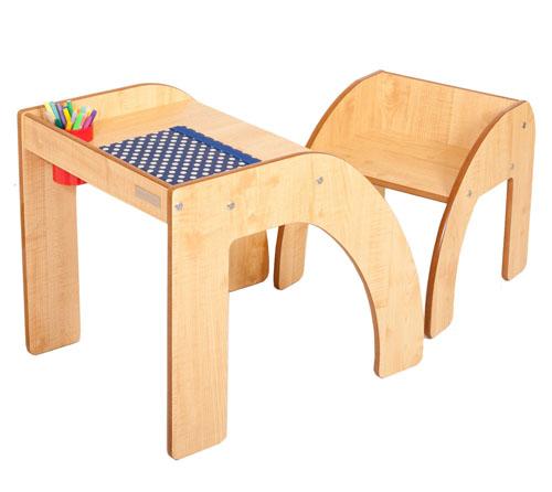 Luca & Company Fun Station Solo Modern Children Desk