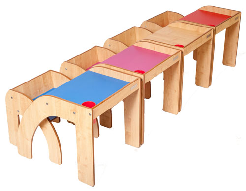 Luca & Company Fun Station Solo Modern Children Desk
