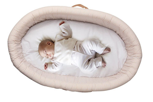 Lulyboo Baby Lounger To Go Baby Travel Bed With