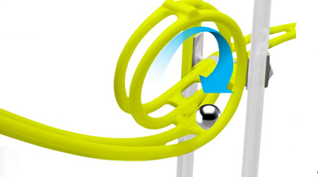 MagNext iCoaster Magnetic Rollercoaster