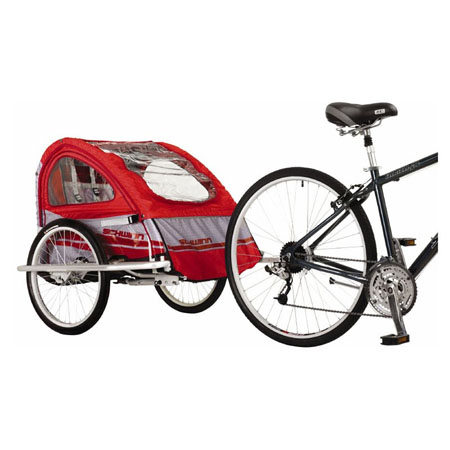 Mark Iii Bike Trailer Is A Great Cart For Carrying Your Babies
