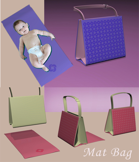 Mat Bag for Efficient and Stylish Baby Stuff Carrying