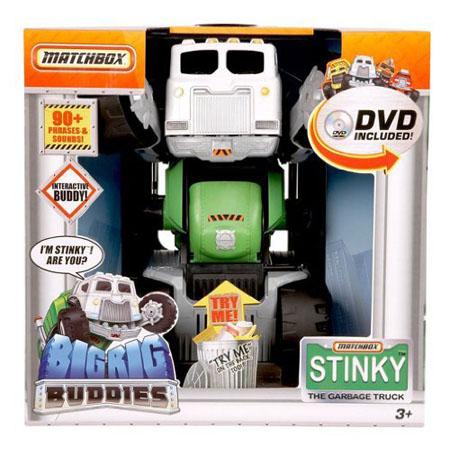 Matchbox Stinky The Garbage Truck