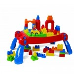 Mega Bloks Play and Go Table Stimulates Your Childre Imagination and Teaches Children About Shape Recognition